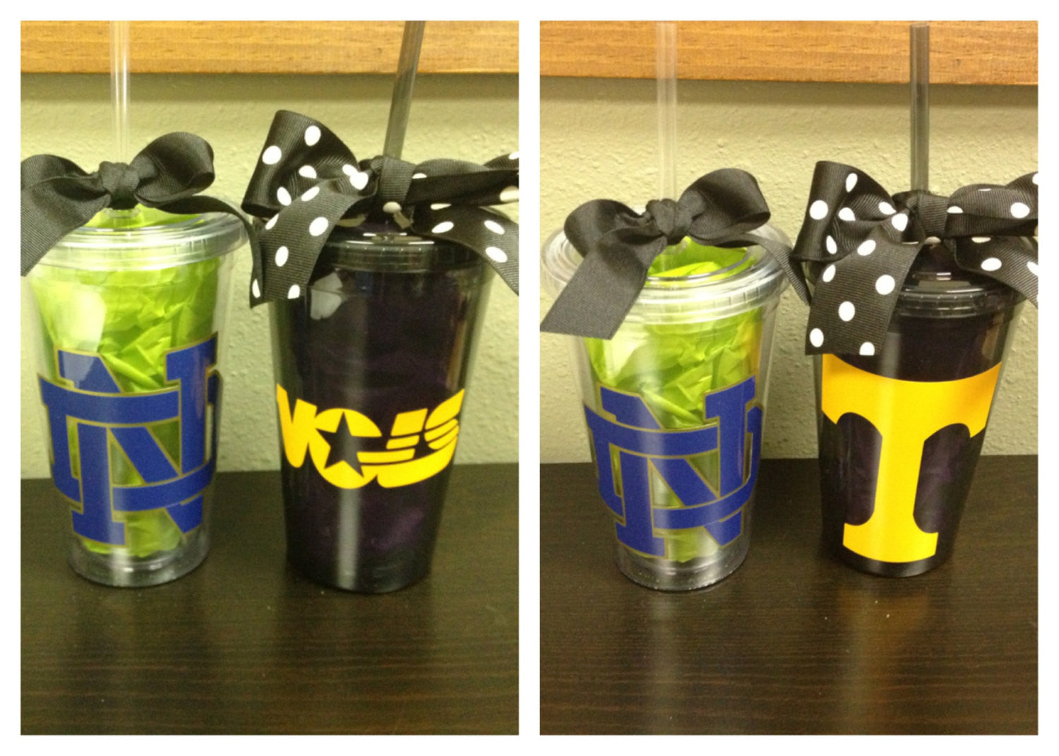 Personalized College School Mascot Tumblers