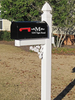 Personalized Mail Box Vinyl Decal for Family