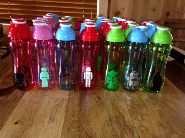 Personalized Kid's Water Bottle Star Wars Theme