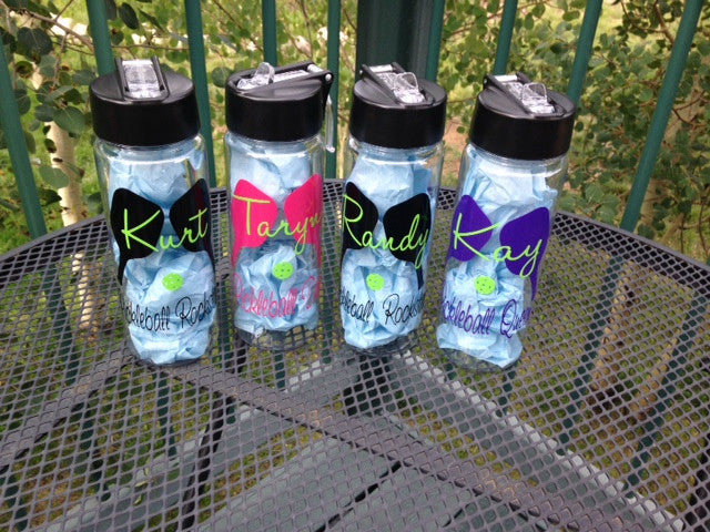 Personalized Pickleball water bottle Gift