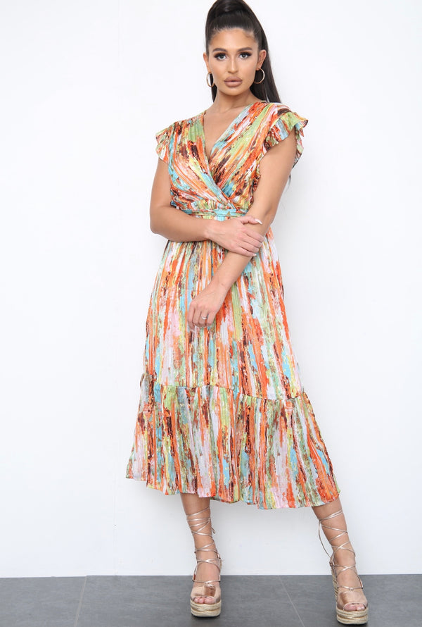 Colourful Summer Maxi Dress