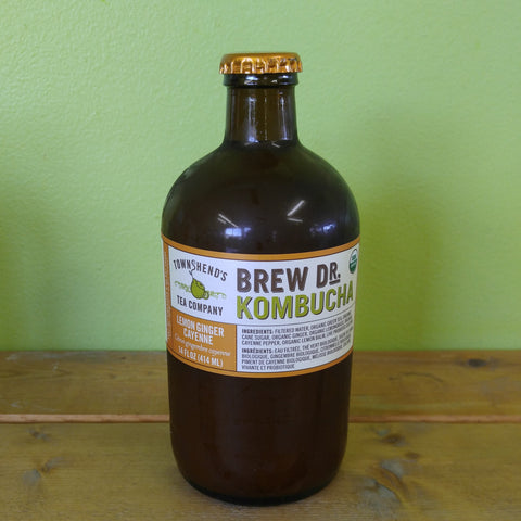 Brew Dr. Kombucha - Lemon Ginger Cayenne (414ml)