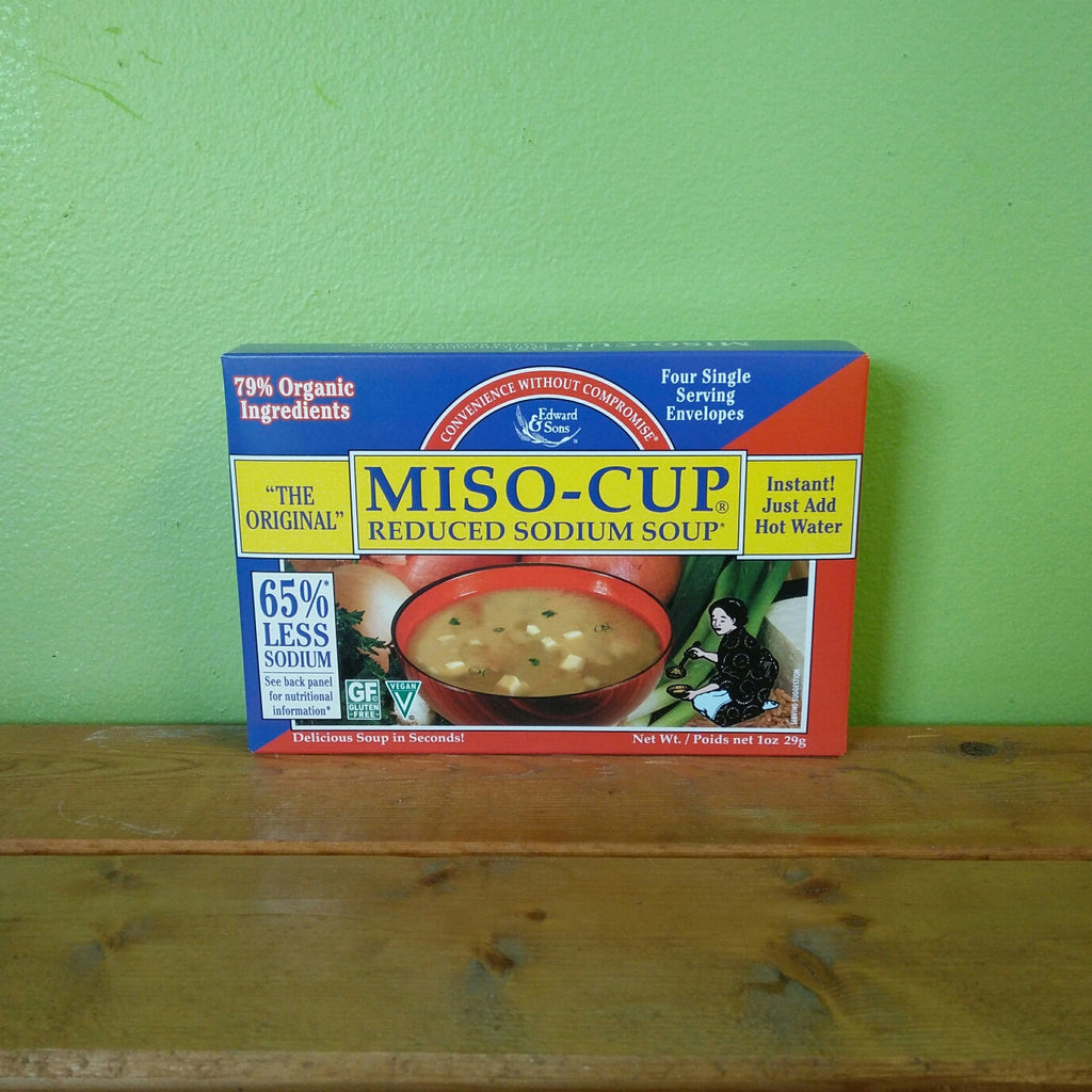 Miso-Cup Reduced Sodium Soup (4 Pack) - V Word Market - Vegan Grocery - Delivered. - 1