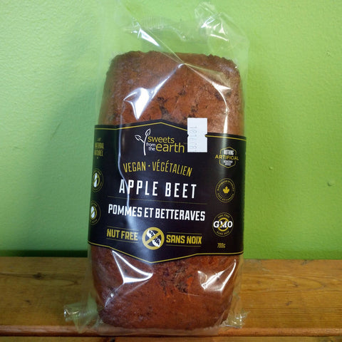 Sweets From The Earth - Apple Beet Loaf - V Word Market - Vegan Grocery - Delivered. - 1