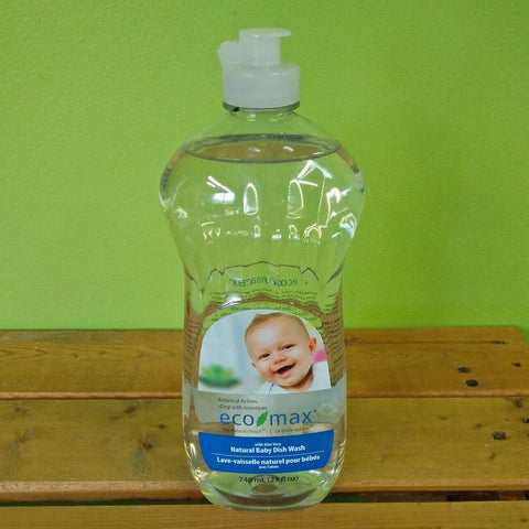 EcoMax - Baby Dish Wash - Unscented - V Word Market - Vegan Grocery - Delivered.