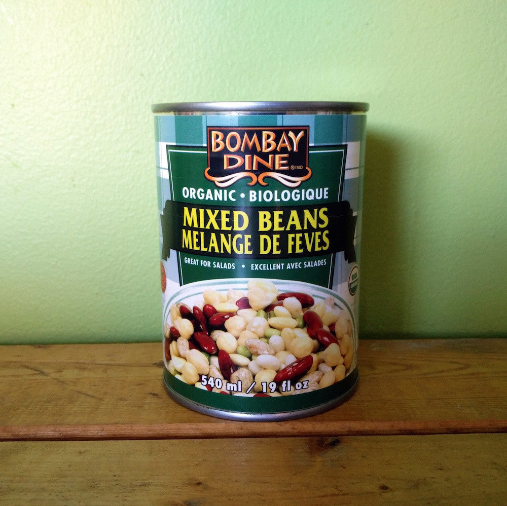 Bombay Dine - Organic Mixed Beans - V Word Market - Vegan Grocery - Delivered.