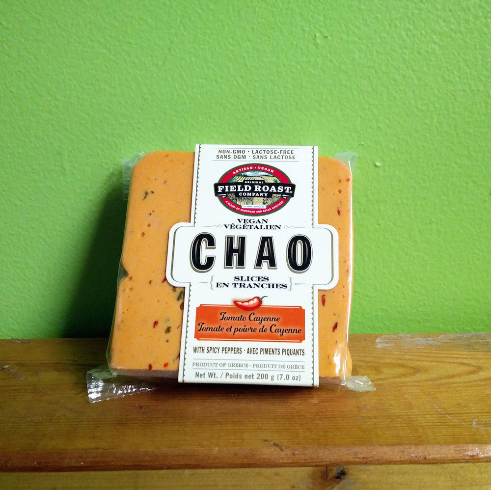 Field Roast - Chao slices - Tomato Cayenne (200g) **CLEARANCE** - V Word Market - Vegan Grocery - Delivered.