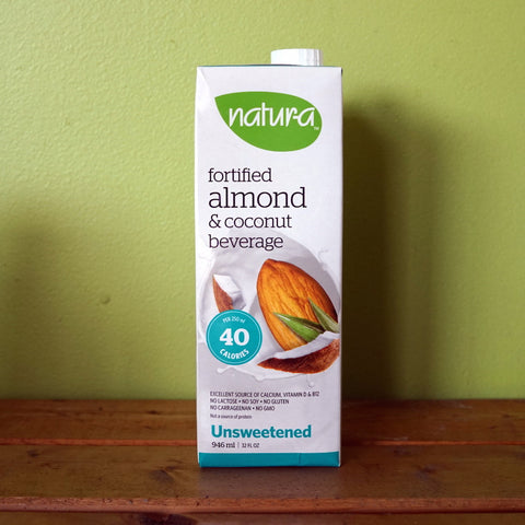 Natur-a - Unsweetened Almond Coconut Beverage (946ml) - V Word Market - Vegan Grocery - Delivered.