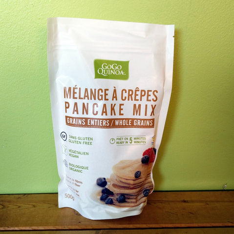 Gogo Quinoa - Organic Whole Grain Pancake Mix - V Word Market - Vegan Grocery - Delivered.