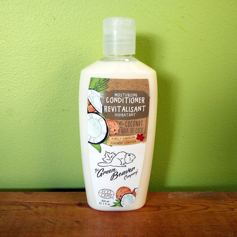 Green Beaver - Moisturizing Conditioner - Coconut - V Word Market - Vegan Grocery - Delivered.
