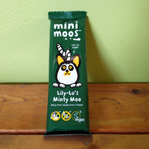 Moo Free - Minty Moo Chocolate Mini Bar - V Word Market - Vegan Grocery - Delivered.