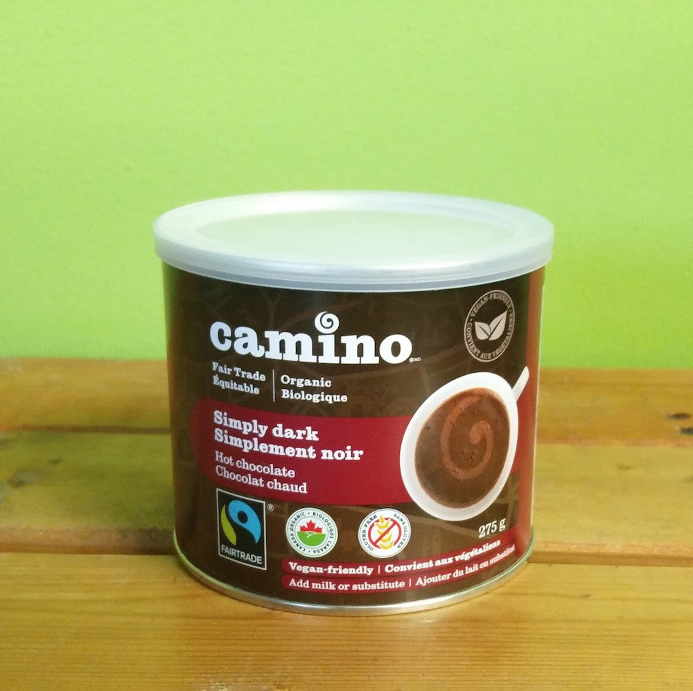 Camino - Simply Dark Organic Hot Chocolate - V Word Market - Vegan Grocery - Delivered.