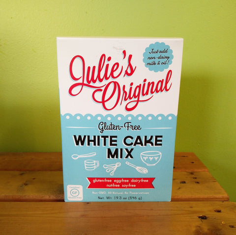 Julie's Original - Gluten-Free White Cake Mix - V Word Market - Vegan Grocery - Delivered.