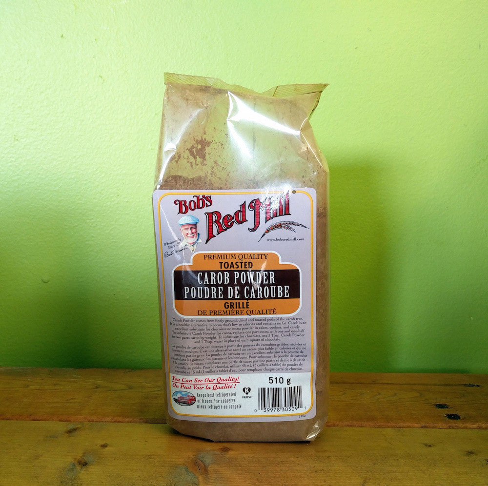 Bob's Red Mill - Toasted Carob Powder - V Word Market - Vegan Grocery - Delivered.