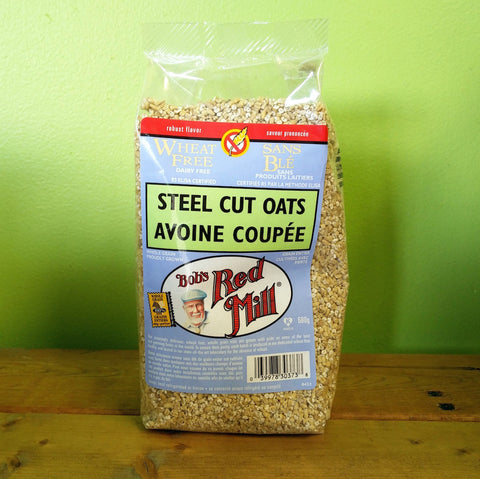Bob's Red Mill - Steel Cut Oats - V Word Market - Vegan Grocery - Delivered.