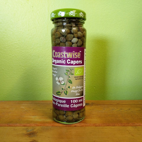 Coastwise - Organic Capers - V Word Market - Vegan Grocery - Delivered.
