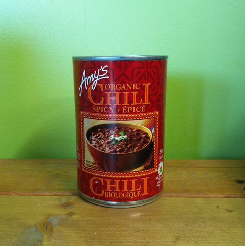 Amy's Organic Spicy Chili - V Word Market - Vegan Grocery - Delivered.