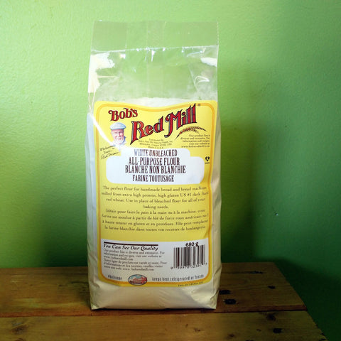 Bob's Red Mill - Unbleached All Purpose White Flour - V Word Market - Vegan Grocery - Delivered.