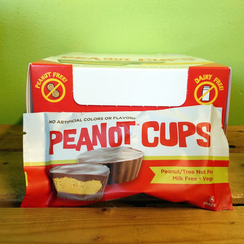 Premium Chocolatiers - Chocolate Peanot Butter Cups (2 cups/ pack) - V Word Market - Vegan Grocery - Delivered.