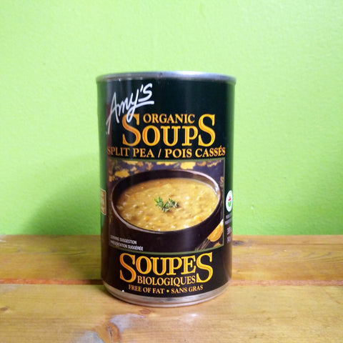 Amy's Organic Split Pea Soup - V Word Market - Vegan Grocery - Delivered.