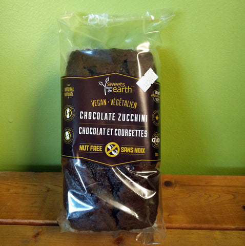 Sweets From The Earth - Chocolate Zucchini Loaf - V Word Market - Vegan Grocery - Delivered. - 1