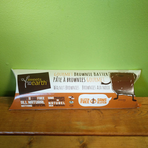 Sweets From The Earth - Walnut Brownie Batter - V Word Market - Vegan Grocery - Delivered.