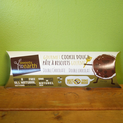 Sweets From The Earth - Double Chocolate Dough (Nut Free) - V Word Market - Vegan Grocery - Delivered.