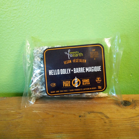 Sweets From The Earth – Hello Dolly - V Word Market - Vegan Grocery - Delivered. - 1