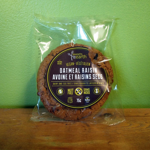 Sweets From The Earth - Oatmeal Raisin Cookie - V Word Market - Vegan Grocery - Delivered.