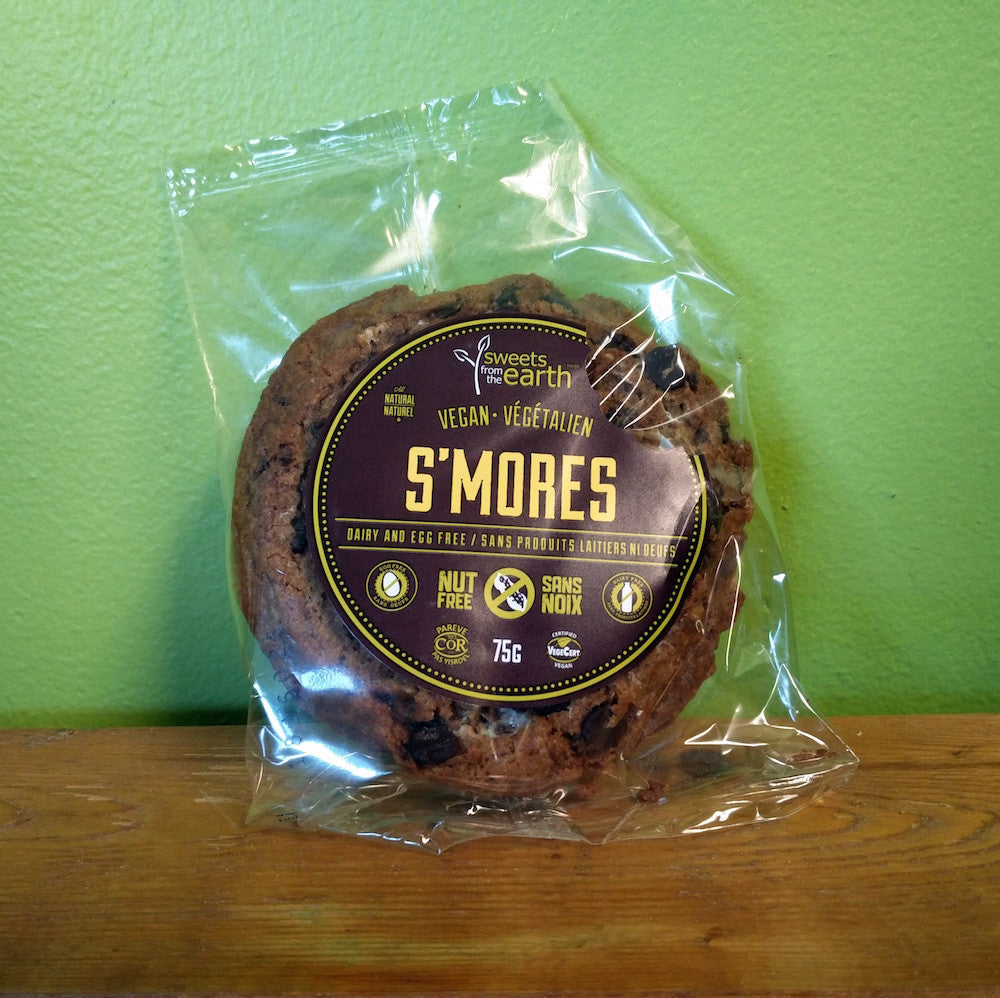 Sweets From The Earth – S'mores Cookie - V Word Market - Vegan Grocery - Delivered. - 1