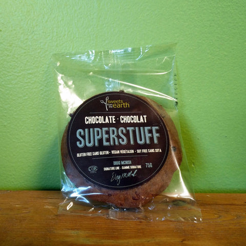 Sweets From The Earth – Superstuff Cookie – Chocolate - V Word Market - Vegan Grocery - Delivered. - 1