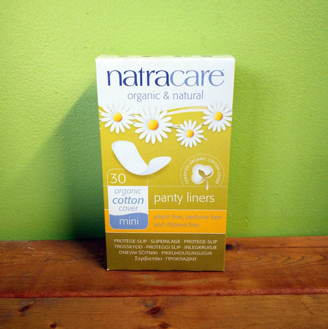 Natracare - Mini Panty Liners - V Word Market - Vegan Grocery - Delivered.