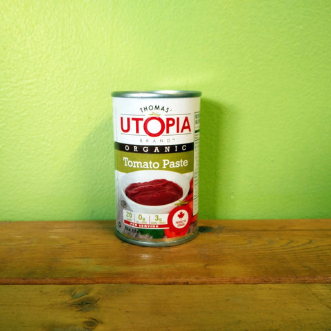 Thomas' Utopia - Organic Tomato Paste - V Word Market - Vegan Grocery - Delivered.