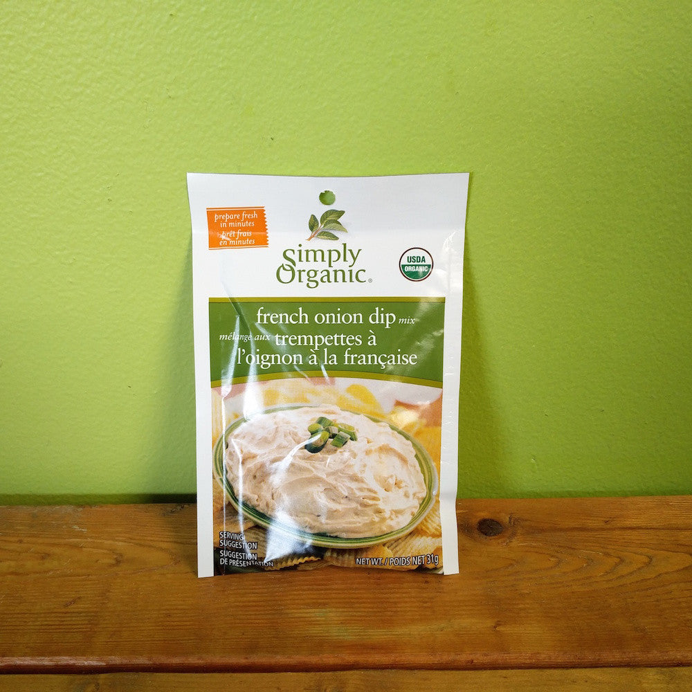 Simply Organic - French Onion Dip Mix - V Word Market - Vegan Grocery - Delivered.