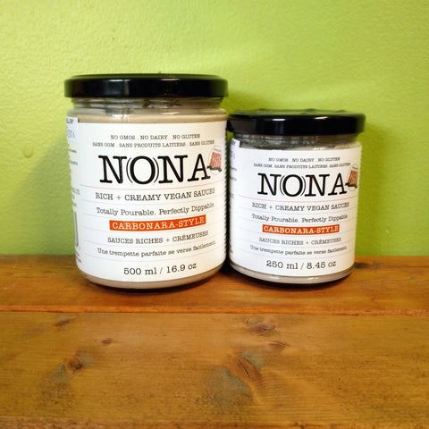 Nona Vegan Foods - Carbonara-Style Sauce (w/ Vegan Magic!) - V Word Market - Vegan Grocery - Delivered. - 1