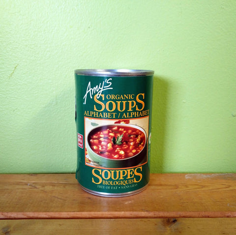 Amy's Kitchen - Organic Alphabet Soup - V Word Market - Vegan Grocery - Delivered.