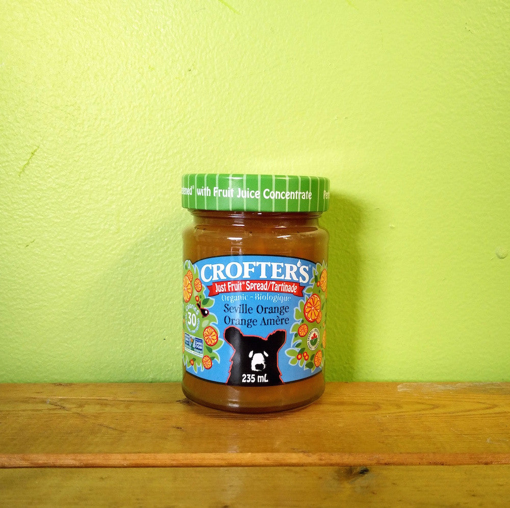 Crofters - Organic Seville Orange JustFruit Spread **Clearance** - V Word Market - Vegan Grocery - Delivered.