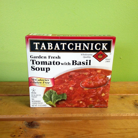 Tabatchnick - Tomato & Basil - V Word Market - Vegan Grocery - Delivered. - 1