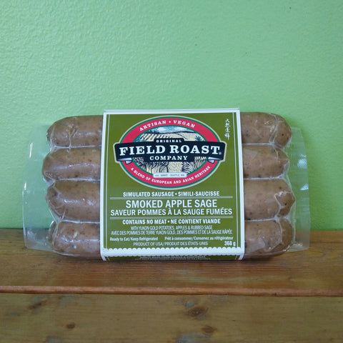 Field Roast - Smoked Apple Sage Sausages - V Word Market - Vegan Grocery - Delivered.