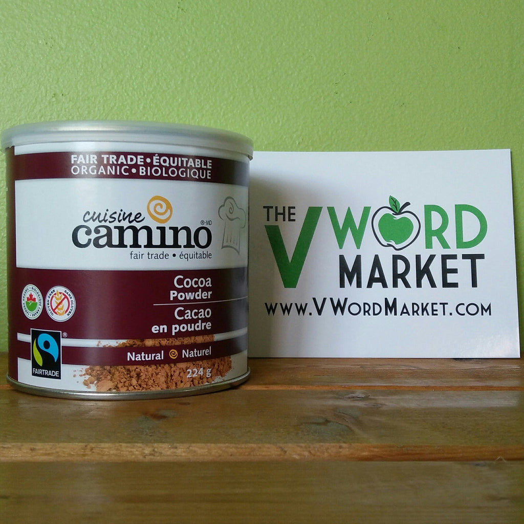 Cocoa Camino - Cocoa Powder - Natural - V Word Market - Vegan Grocery - Delivered.