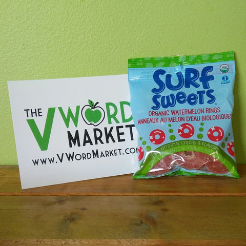 Surf Sweets - Watermelon Rings - V Word Market - Vegan Grocery - Delivered.