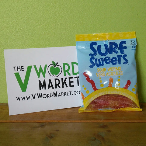 Surf Sweets - Sour Worms - V Word Market - Vegan Grocery - Delivered.