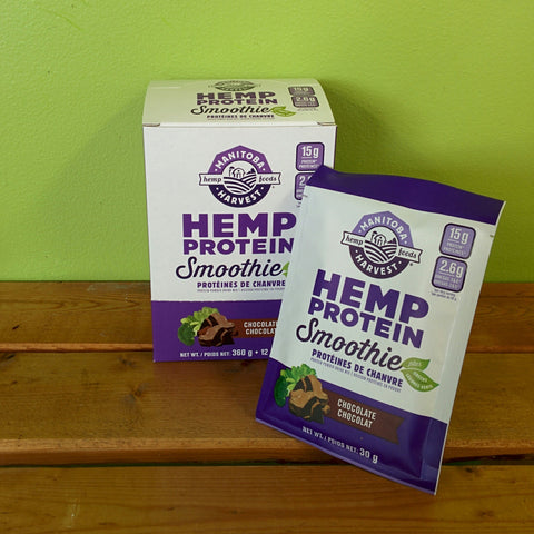 Manitoba Harvest - Hemp Protein Smoothie - Chocolate (12/pk) (30g)
