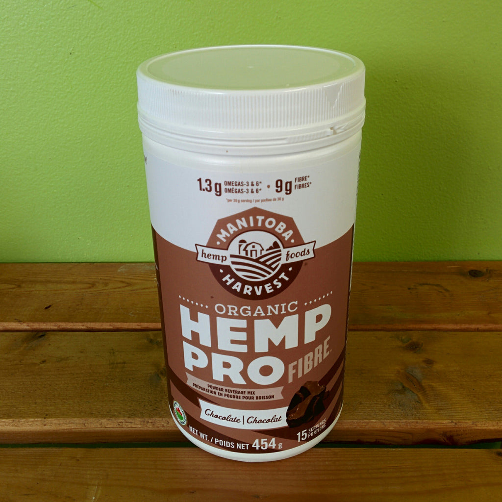 Manitoba Harvest - Organic Hemp Pro Fibre Beverage Mix - Chocolate (454g)