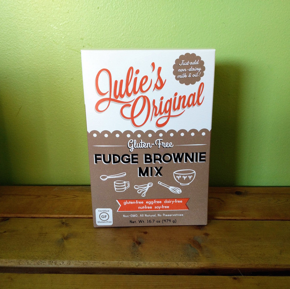 Julie's Original - Gluten-Free Fudge Brownie Mix **CLEARANCE** - V Word Market - Vegan Grocery - Delivered.