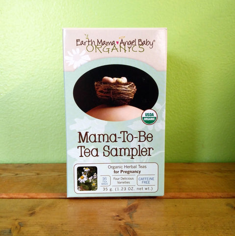 Earth Mama Angel Baby - Organic Mama-to-be Tea Sampler - V Word Market - Vegan Grocery - Delivered.