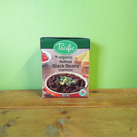 Pacific Foods - Refried Black Beans - V Word Market - Vegan Grocery - Delivered.