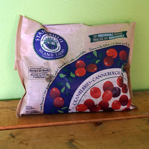 Stahlbush Island - Frozen Cranberries - V Word Market - Vegan Grocery - Delivered.