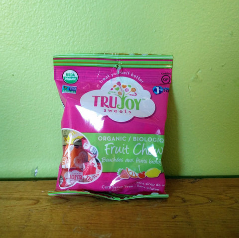 TruJoy Sweets - Fruit Chews - V Word Market - Vegan Grocery - Delivered.