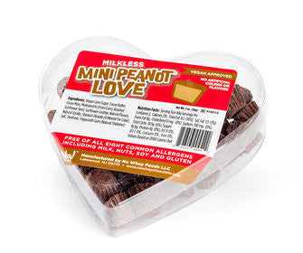 No Whey Foods - Valentine's Day Mini Peanot Love - V Word Market - Vegan Grocery - Delivered.